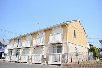 栃木県宇都宮市、宇都宮駅バス25分緑町下車後徒歩8分の築8年 2階建の賃貸アパート