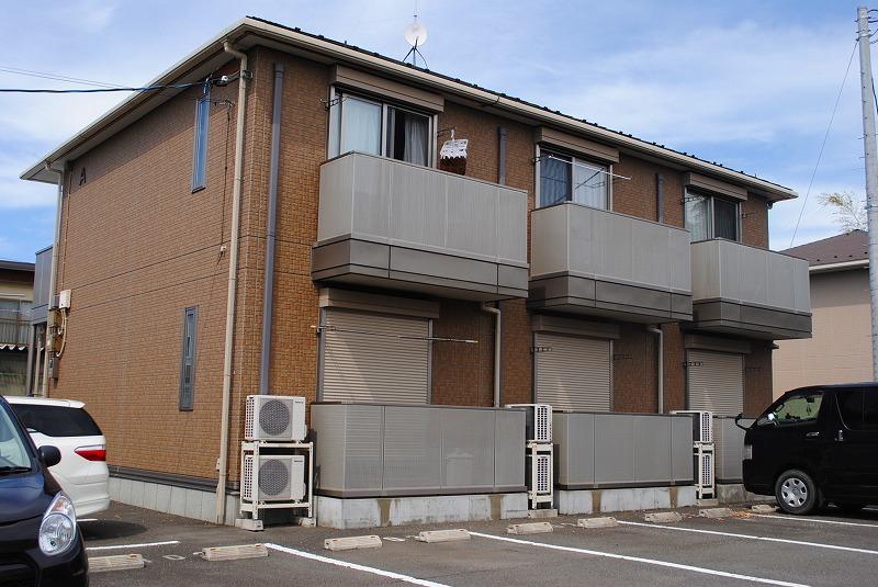 栃木県宇都宮市、雀宮駅徒歩12分の築8年 2階建の賃貸アパート