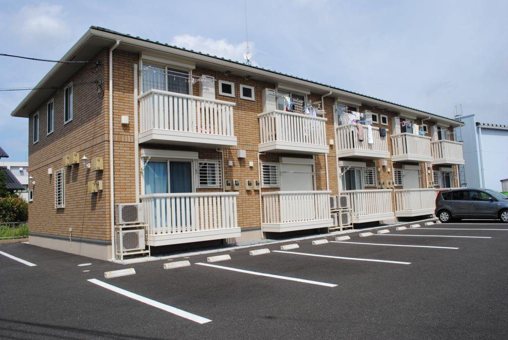 栃木県宇都宮市、西川田駅徒歩26分の築8年 2階建の賃貸アパート