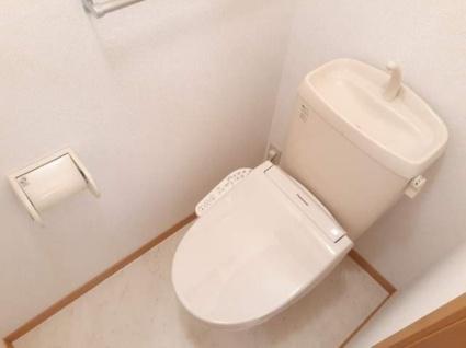 メゾンド・ファミーユC[2DK/42.77m2]のトイレ
