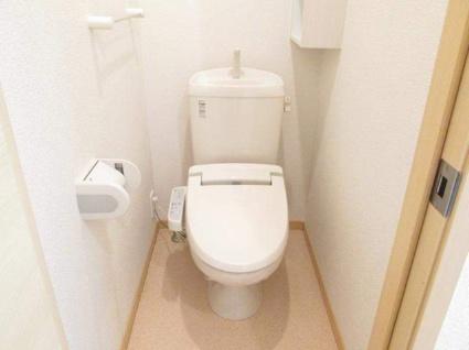 サンフラワー・ヒル[1K/32.9m2]のトイレ