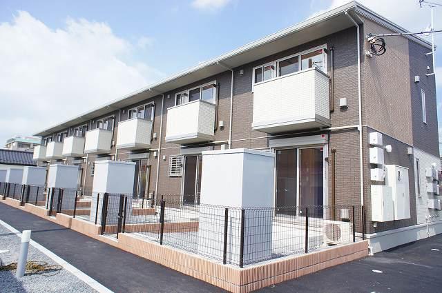 栃木県宇都宮市、江曽島駅徒歩15分の築2年 2階建の賃貸アパート