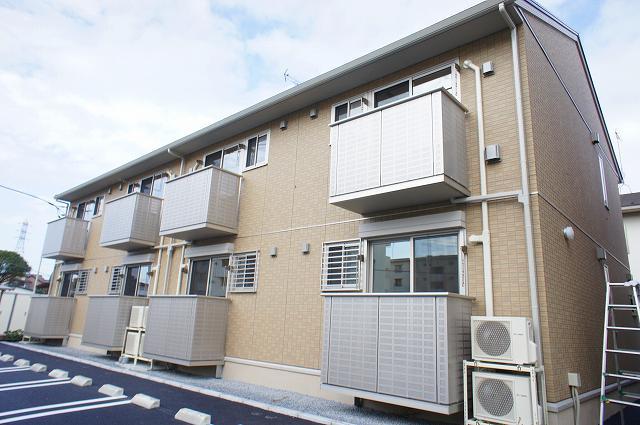 栃木県宇都宮市、江曽島駅徒歩15分の築1年 2階建の賃貸アパート