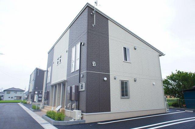 栃木県宇都宮市、雀宮駅徒歩21分の新築 2階建の賃貸アパート
