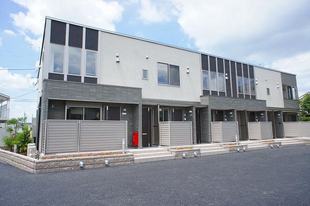 栃木県宇都宮市、江曽島駅徒歩6分の新築 2階建の賃貸アパート
