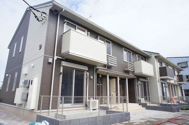 栃木県宇都宮市、江曽島駅徒歩20分の新築 2階建の賃貸アパート