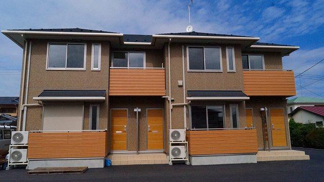 栃木県宇都宮市、雀宮駅徒歩10分の新築 2階建の賃貸アパート