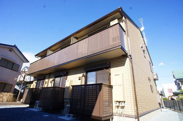 栃木県宇都宮市、江曽島駅徒歩18分の新築 2階建の賃貸アパート