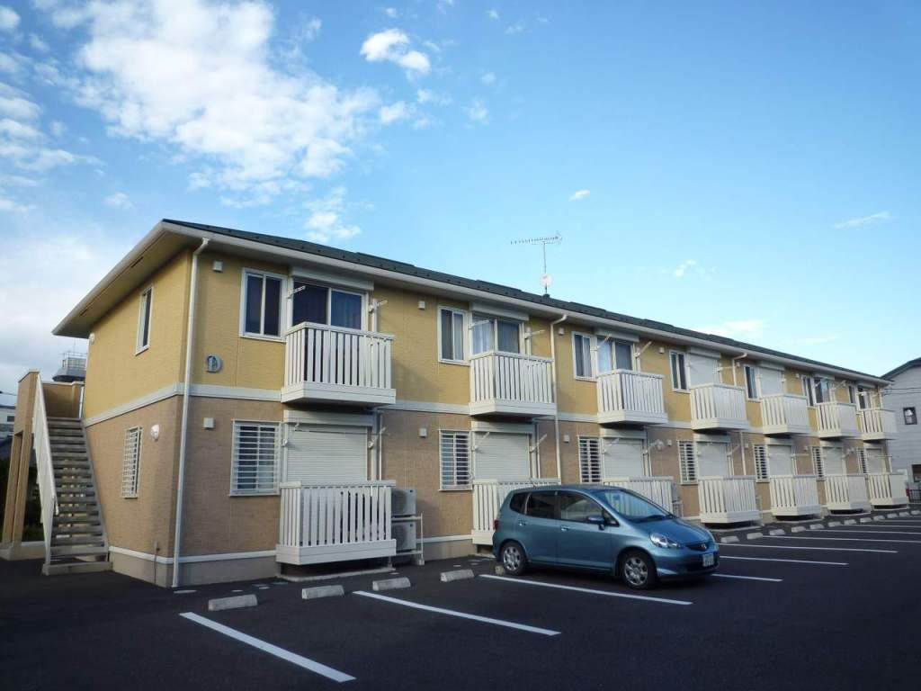 栃木県宇都宮市、宇都宮駅徒歩40分の築9年 2階建の賃貸アパート
