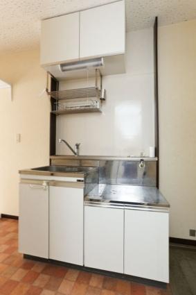 コーポアローランド[1K/20.46m2]のキッチン