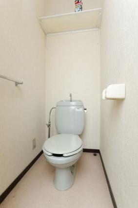 コーポアローランド[1K/20.46m2]のトイレ