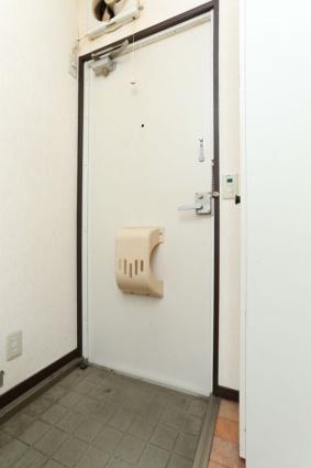 コーポアローランド[1K/20.46m2]の玄関