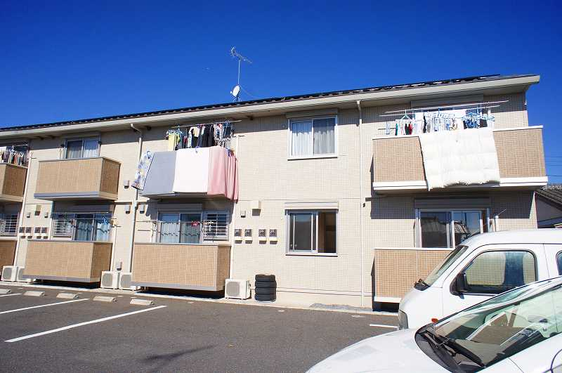 栃木県宇都宮市、西川田駅徒歩12分の築7年 2階建の賃貸アパート