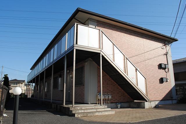 栃木県宇都宮市、宇都宮駅徒歩20分の築13年 2階建の賃貸アパート