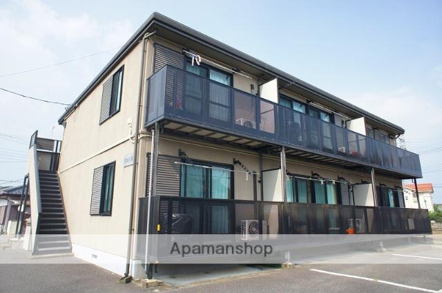 栃木県宇都宮市、雀宮駅徒歩12分の築15年 2階建の賃貸アパート