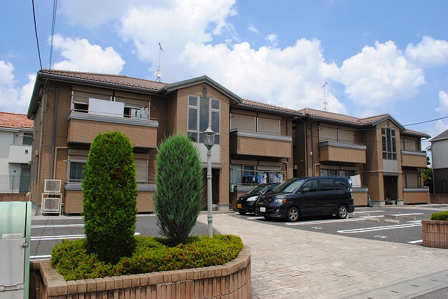 栃木県宇都宮市、鶴田駅徒歩16分の築10年 2階建の賃貸アパート