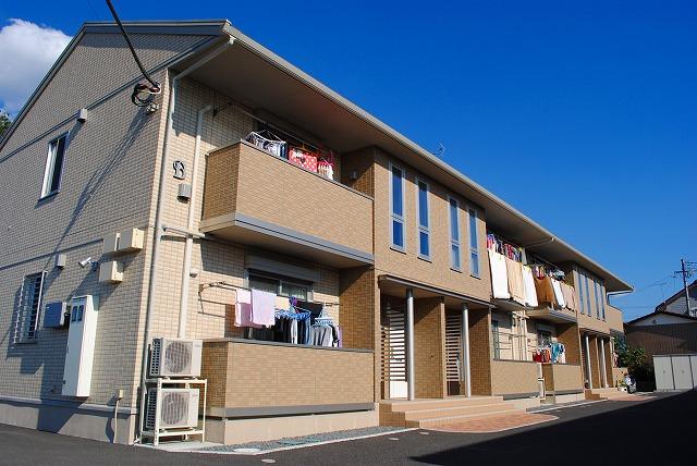 栃木県宇都宮市、宇都宮駅バス25分東原下車後徒歩8分の築4年 2階建の賃貸アパート