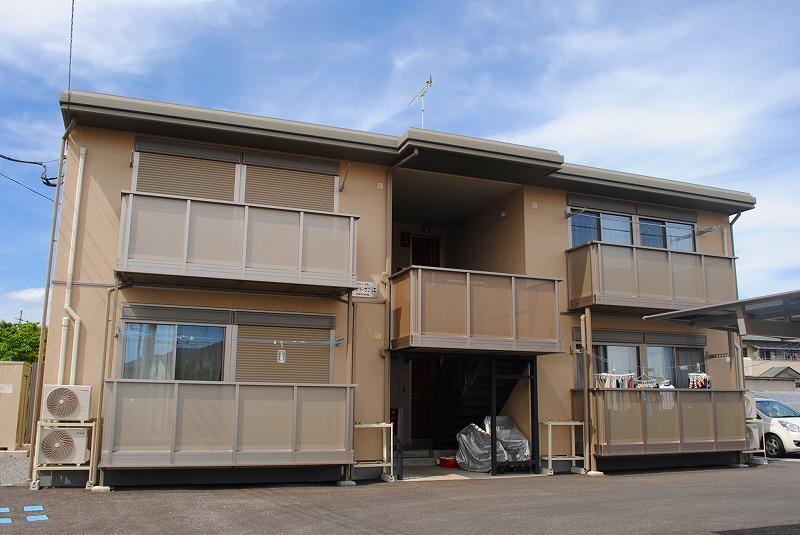 栃木県宇都宮市、雀宮駅徒歩13分の築5年 2階建の賃貸アパート