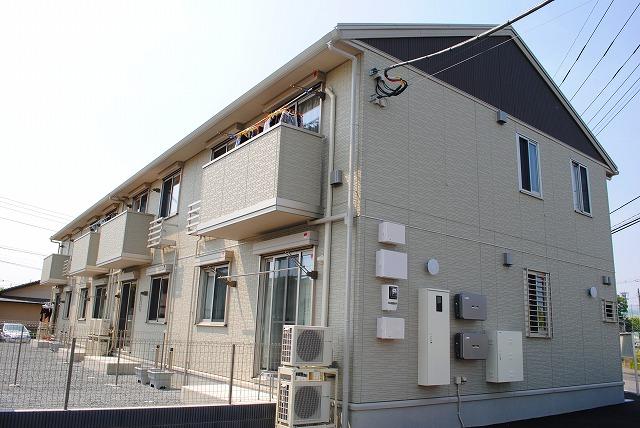 栃木県宇都宮市、西川田駅徒歩7分の築3年 2階建の賃貸アパート