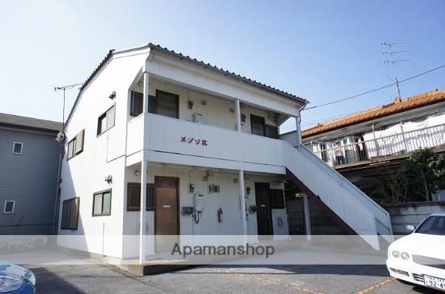 栃木県宇都宮市、江曽島駅徒歩20分の築30年 2階建の賃貸アパート