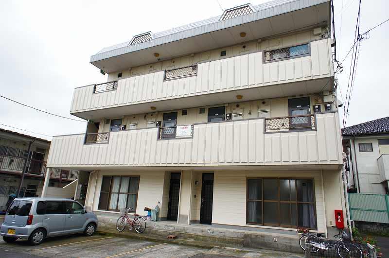栃木県宇都宮市、西川田駅徒歩5分の築29年 3階建の賃貸アパート