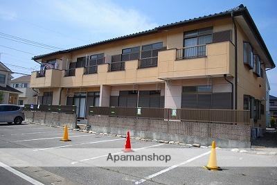 栃木県宇都宮市、宇都宮駅関東バスバス25分一里下車後徒歩5分の築24年 2階建の賃貸アパート