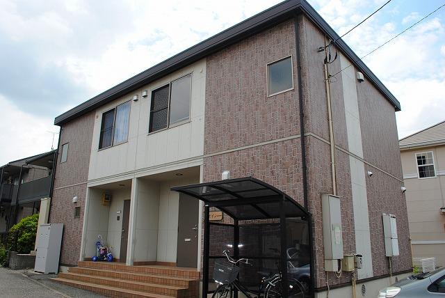 栃木県宇都宮市、雀宮駅バス15分一里下車後徒歩5分の築12年 2階建の賃貸テラスハウス