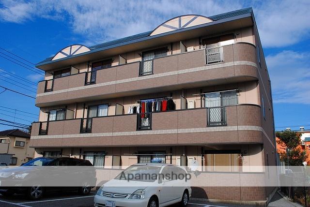 栃木県宇都宮市の築10年 3階建の賃貸マンション
