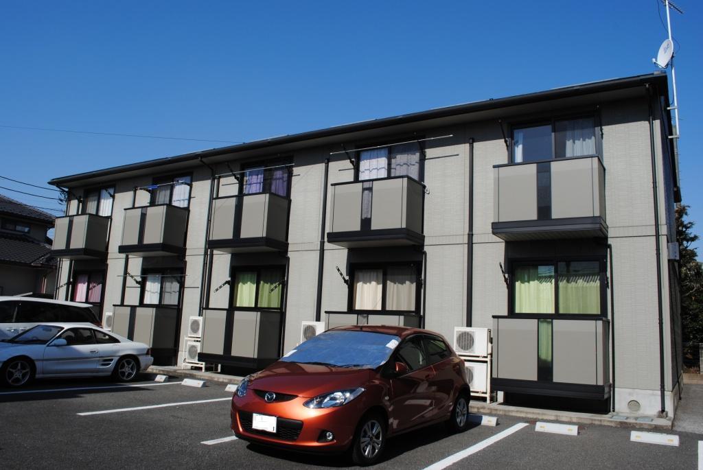栃木県宇都宮市、江曽島駅徒歩25分の築17年 2階建の賃貸アパート