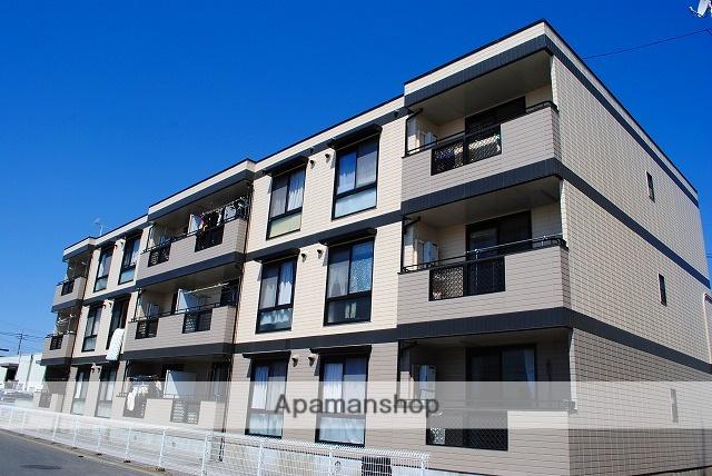 栃木県宇都宮市の築25年 3階建の賃貸マンション