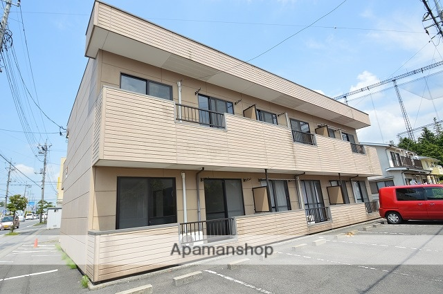 栃木県宇都宮市、宇都宮駅徒歩70分の築19年 2階建の賃貸アパート