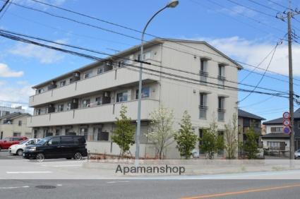 栃木県宇都宮市、宇都宮駅徒歩75分の築6年 3階建の賃貸アパート