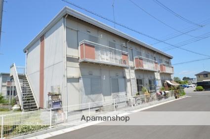栃木県塩谷郡高根沢町、宝積寺駅徒歩15分の築25年 2階建の賃貸アパート