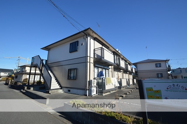 栃木県塩谷郡高根沢町、宝積寺駅徒歩20分の築19年 2階建の賃貸アパート