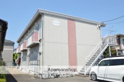 栃木県宇都宮市、岡本駅関東バスバス5分公園前下車後徒歩1分の築25年 2階建の賃貸アパート