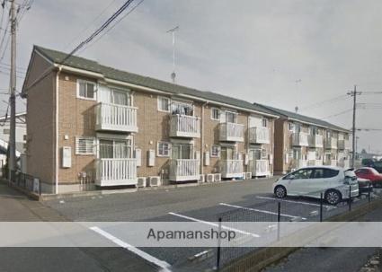 栃木県さくら市、氏家駅徒歩15分の築8年 2階建の賃貸アパート
