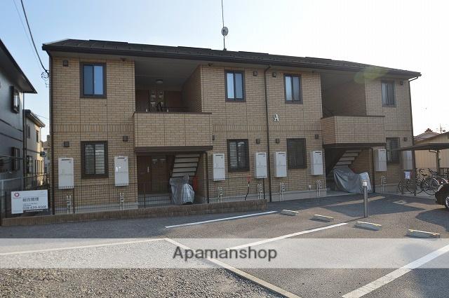 栃木県塩谷郡高根沢町、宝積寺駅徒歩10分の築6年 2階建の賃貸アパート