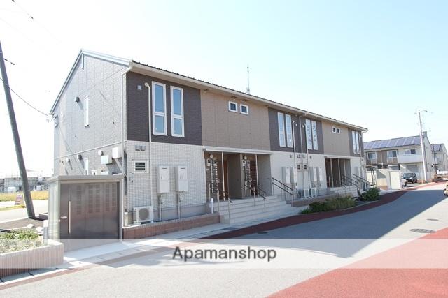 栃木県宇都宮市、宇都宮駅JRバスバス56分壁梨下車後徒歩9分の新築 2階建の賃貸アパート