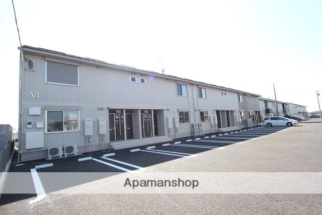 栃木県宇都宮市、宇都宮駅JRバスバス56分野高谷下車後徒歩6分の新築 2階建の賃貸アパート