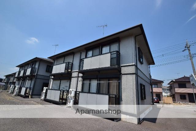 栃木県塩谷郡高根沢町、宝積寺駅徒歩40分の築18年 2階建の賃貸アパート
