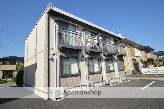 栃木県宇都宮市、岡本駅徒歩78分の築10年 2階建の賃貸アパート