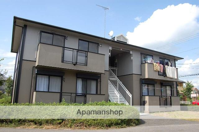 栃木県塩谷郡高根沢町、宝積寺駅徒歩50分の築22年 2階建の賃貸アパート