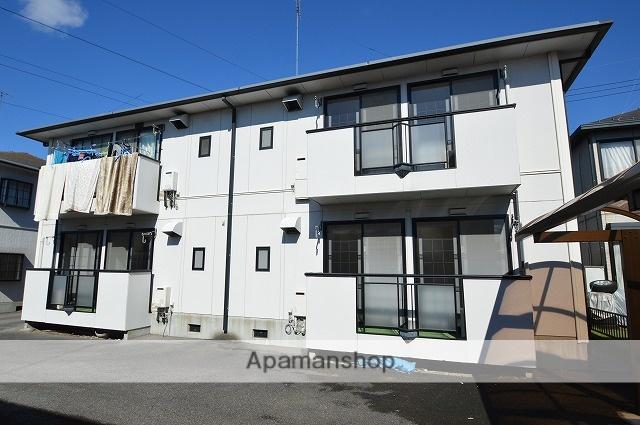 栃木県塩谷郡高根沢町、宇都宮駅徒歩140分の築25年 2階建の賃貸アパート