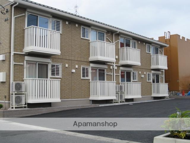 栃木県さくら市、氏家駅徒歩8分の築6年 2階建の賃貸アパート