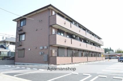 栃木県宇都宮市、宇都宮駅徒歩70分の築3年 3階建の賃貸アパート