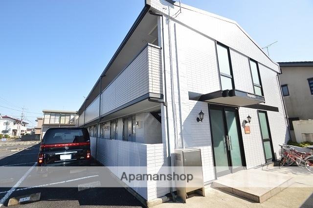 栃木県宇都宮市、宇都宮駅徒歩100分の築21年 2階建の賃貸アパート