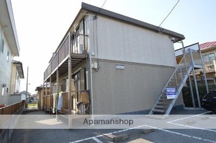 栃木県宇都宮市、岡本駅関東バスバス10分公民館前下車後徒歩2分の築22年 2階建の賃貸アパート