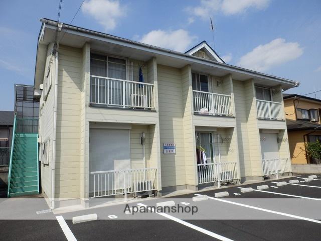 栃木県塩谷郡高根沢町、岡本駅徒歩80分の築24年 2階建の賃貸アパート