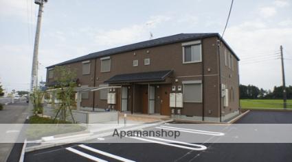 栃木県那須塩原市、西那須野駅徒歩15分の築6年 2階建の賃貸アパート
