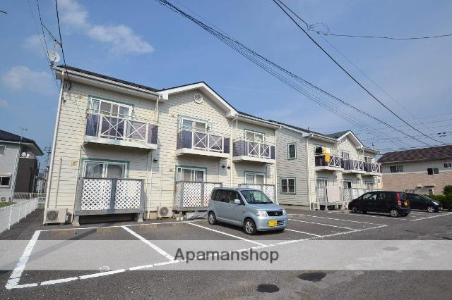 栃木県那須塩原市、西那須野駅徒歩13分の築14年 2階建の賃貸アパート